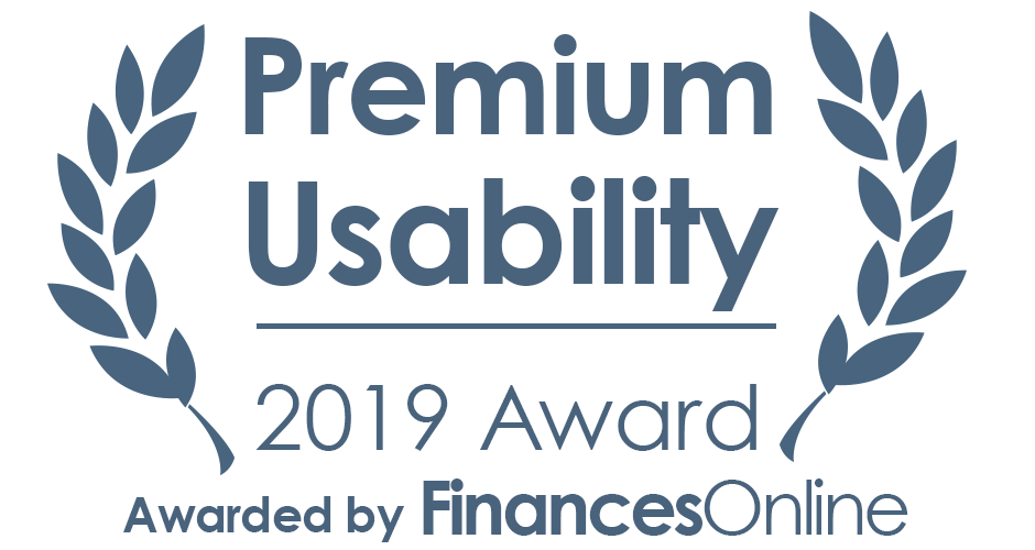 Premium Usability award by FinancesOnline